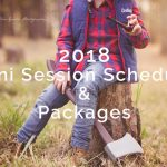 2018 Mini Session Schedule & Packages
